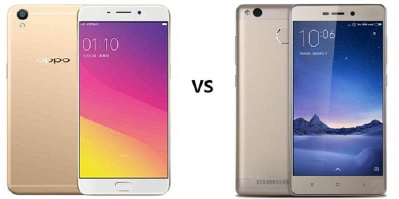 (3) Oppo A37 VS Xiaomi Redmi 3 Pro 1