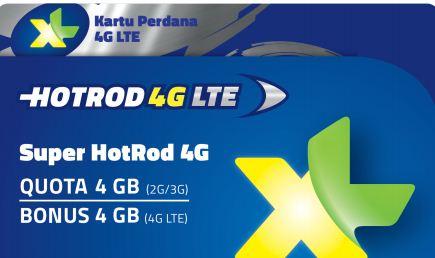 Kartu Perdana XL HotRod 3G 4G Cara Daftar Aktivasi Paket Internet XL Harga Terbaru