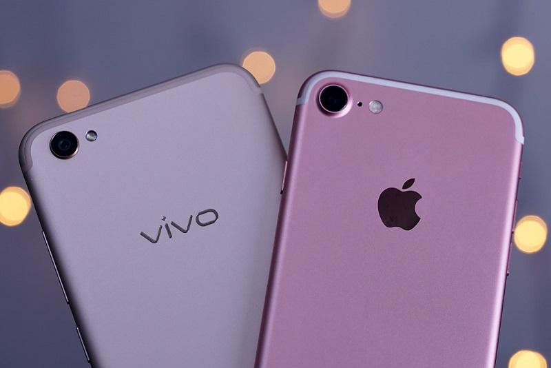 Vivo Vs iPhone