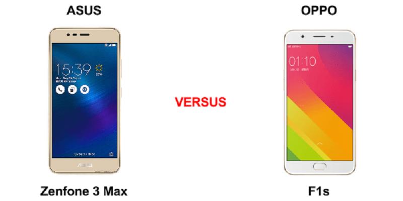 (4) oppo f1s vs zenfone 3 max 2