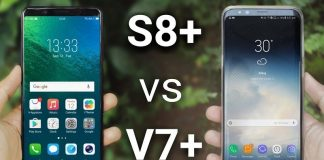 (4) vivo v7 plus vs samsung galaxy s8