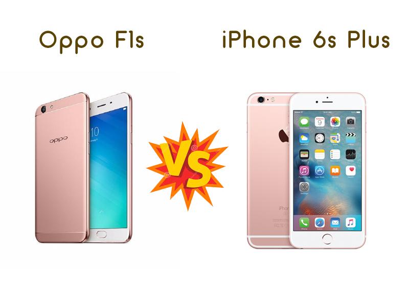 Perbandingan Bagus Mana HP Oppo F1s VS Apple IPhone 6S Plus segi Harga, Kamera, dan Spesifikasi di Indonesia