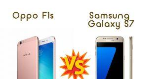 Perbandingan Bagus Mana HP Oppo F1s VS Samsung Galaxy S7 segi Harga, Kamera, dan Spesifikasi di Indonesia