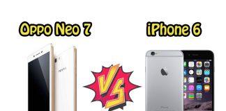 Perbandingan Bagus Mana HP Oppo Neo 7 VS Apple iPhone 6 segi Harga, Kamera, dan Spesifikasi di Indonesia