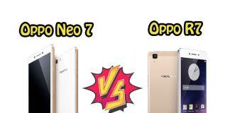 Perbandingan Bagus Mana HP Oppo Neo 7 VS Oppo R7 segi Harga, Kamera, dan Spesifikasi di Indonesia