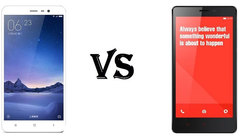 (1) Xiaomi Redmi Note 3 vs redmi note 3 pro 2