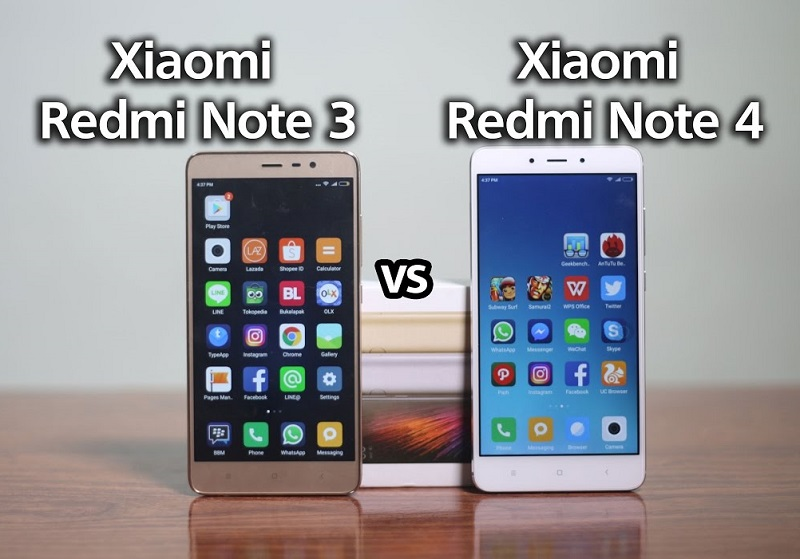 (3) Xiaomi Redmi Note 3 vs redmi note 4 2