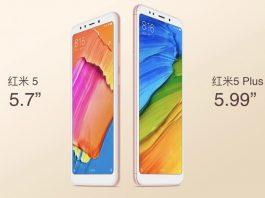 Xiaomi Redmi 5 dan remdi 5 plus