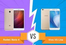 Perbandingan Bagus Mana HP Xiaomi Redmi Note 4 VS Vivo V5 Lite segi Harga, Kamera, dan Spesifikasi di Indonesia