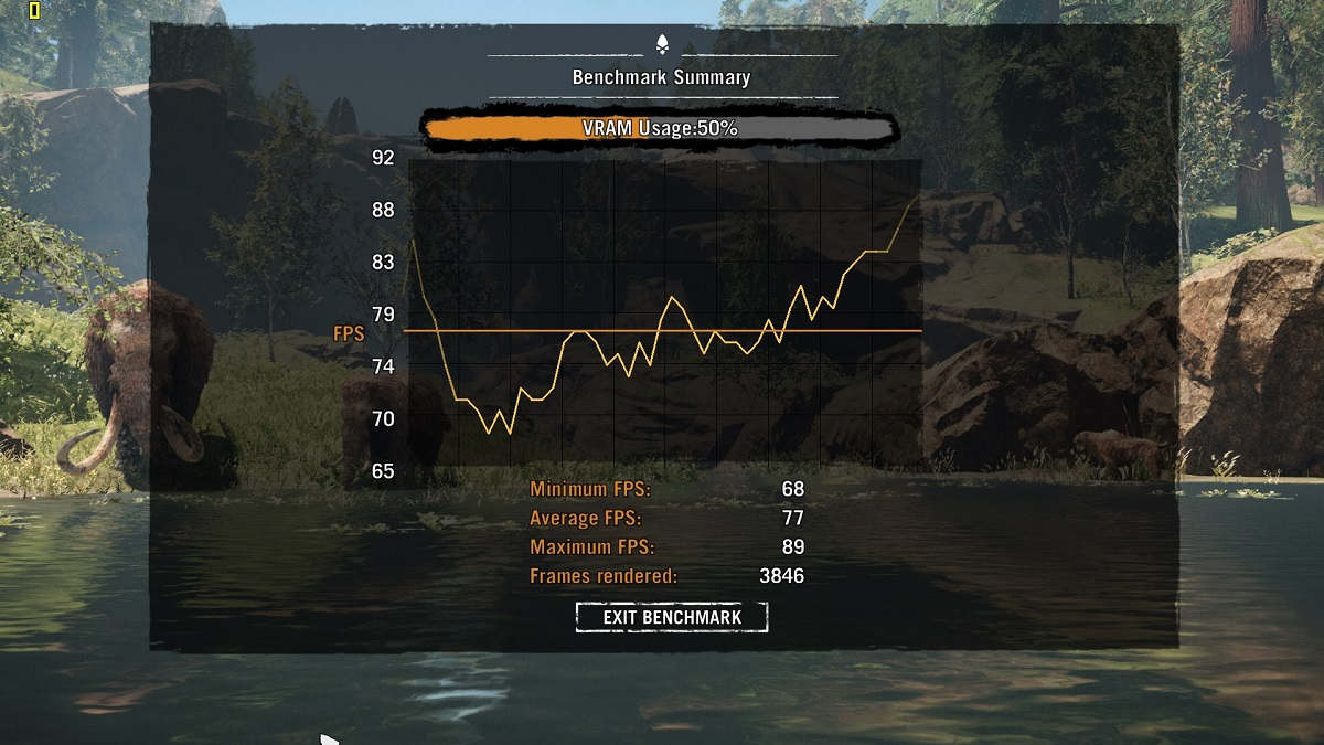 Farcry Primall Benchmark