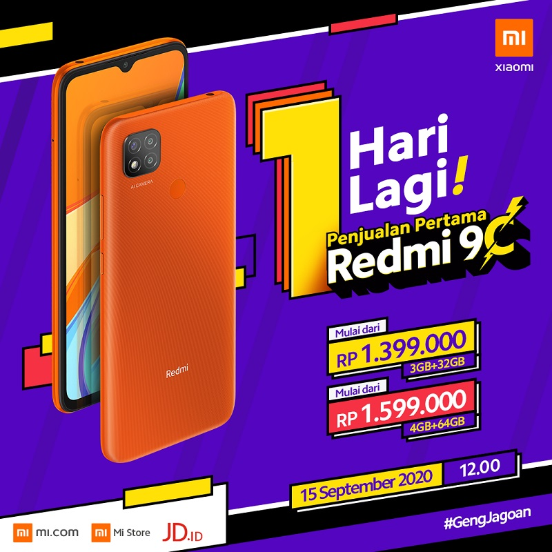 H-1 First Sales Redmi 9C