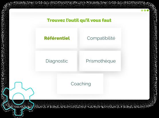 illustration de l'étape 3 des Tools : choix de l'outil référentiel de compétences