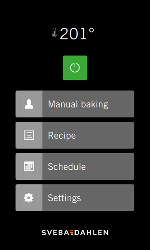 SD Touch User-friendly panel with swipe function