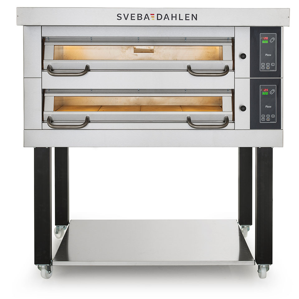 Best baking results with deck oven D-series from sveba dahlen