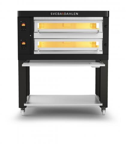 P-Series - P602 Pizza Oven front black