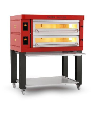 P-Series - P602 Pizza Oven front left red