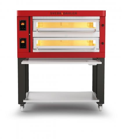 P-Series - P602 Pizza Oven front red