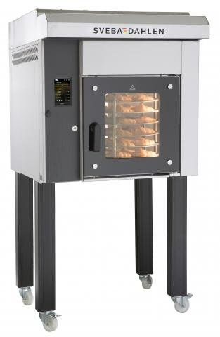 S-Series 200 rotating mini rack oven front