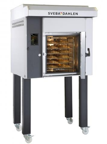S-Series 200 rotating mini rack oven front open