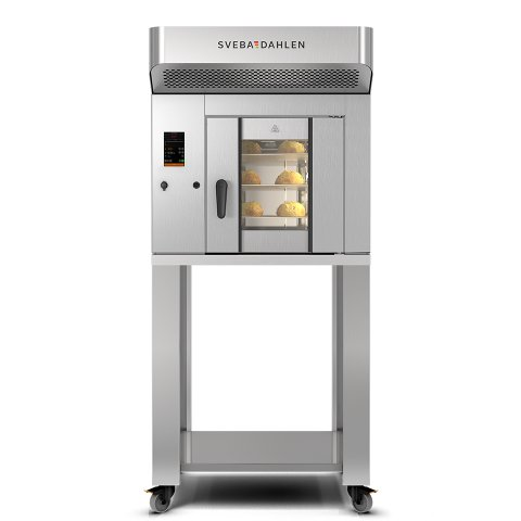 Small baking oven with high capacity, the S-Series SR120 is perfect for the cafe and store. Flexible instore baking.