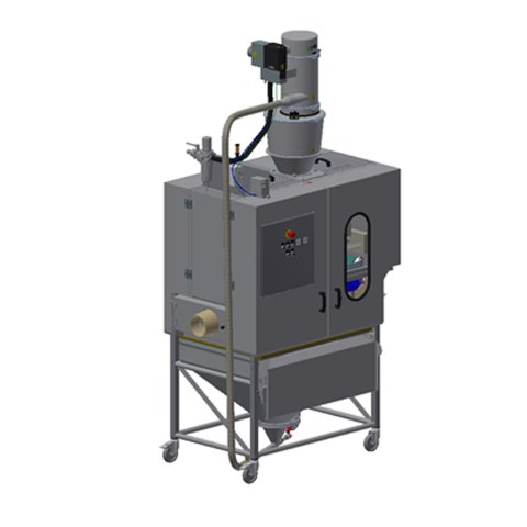 semolina flour coating system for bakery bread lines