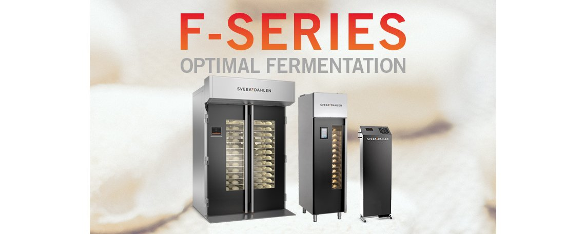 Optimal fermentation with proofer from sveba dahlen f-series