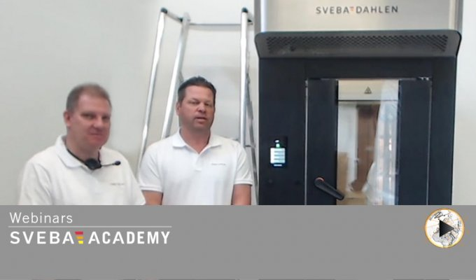 Sveba Academy webinar - Mini Rack Oven S-Series for in store bakeries, cafees and more