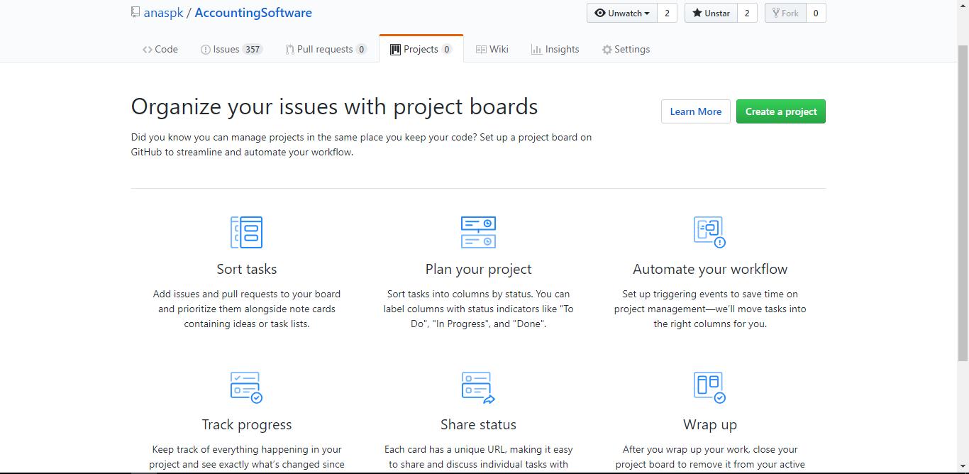 GitHub Screenshot