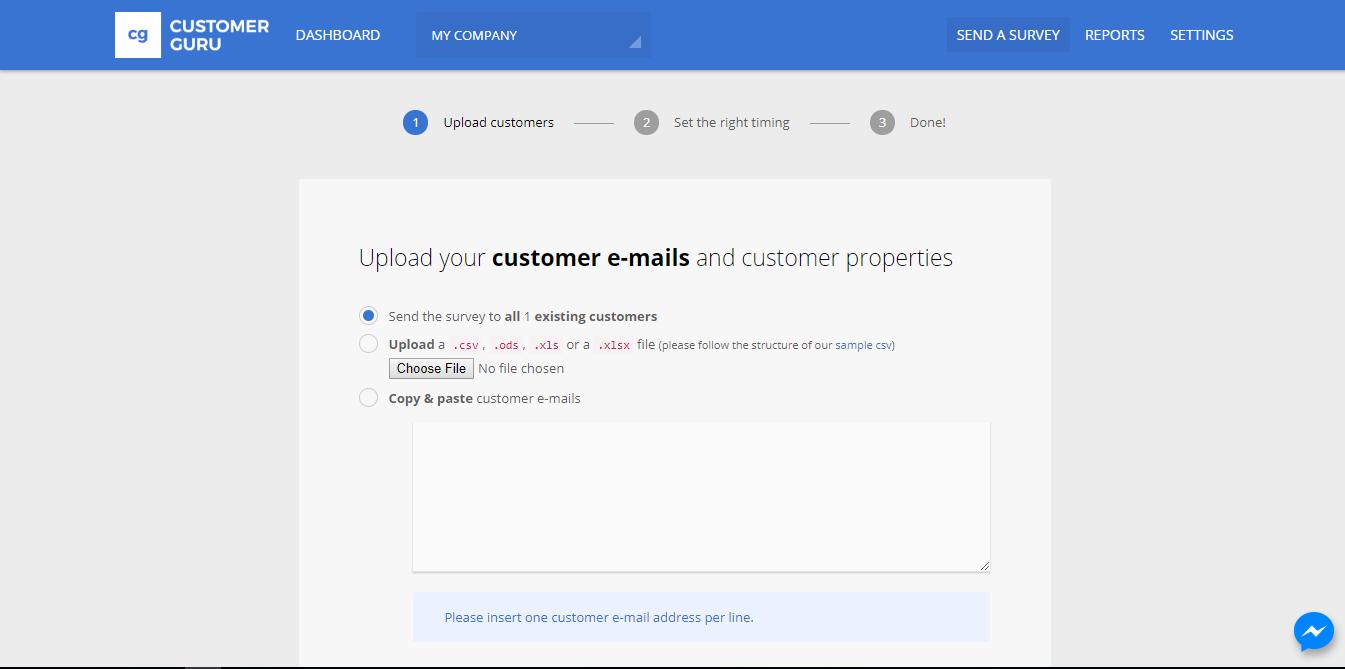 Customer.guru Screenshot