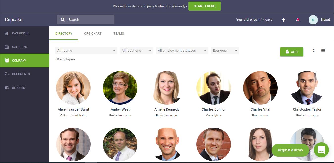 Cake HR Screenshot