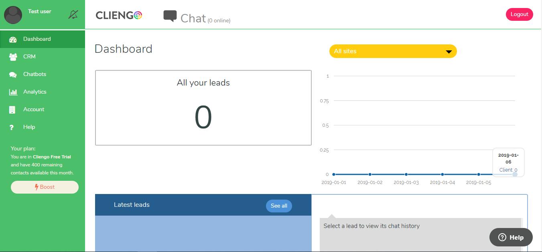 Cliengo Screenshot