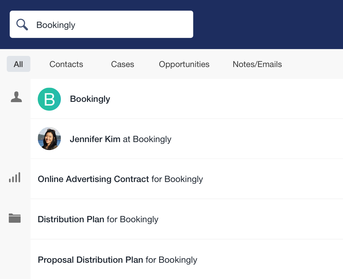 Capsule CRM Screenshot