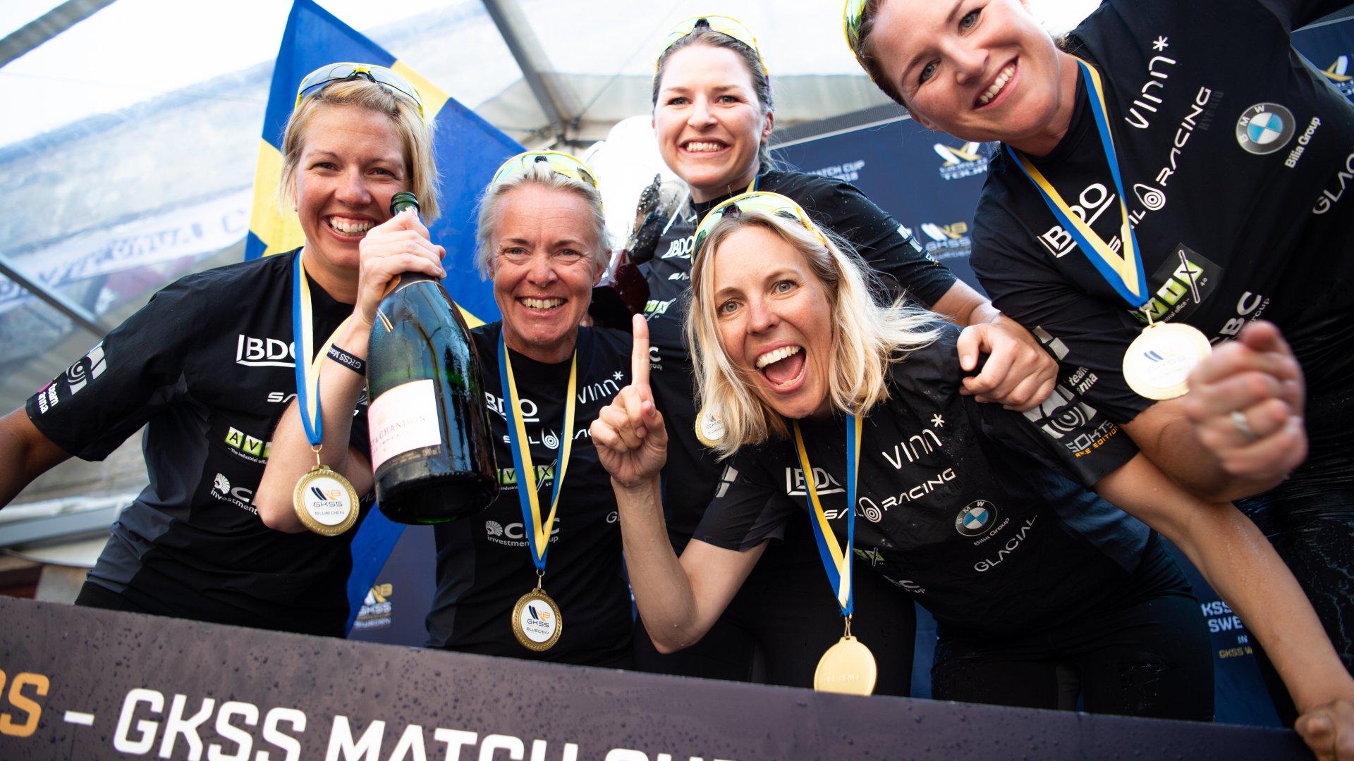 Nordea Womens Trophy Segling Match Race Marstrand GKSS WMRT