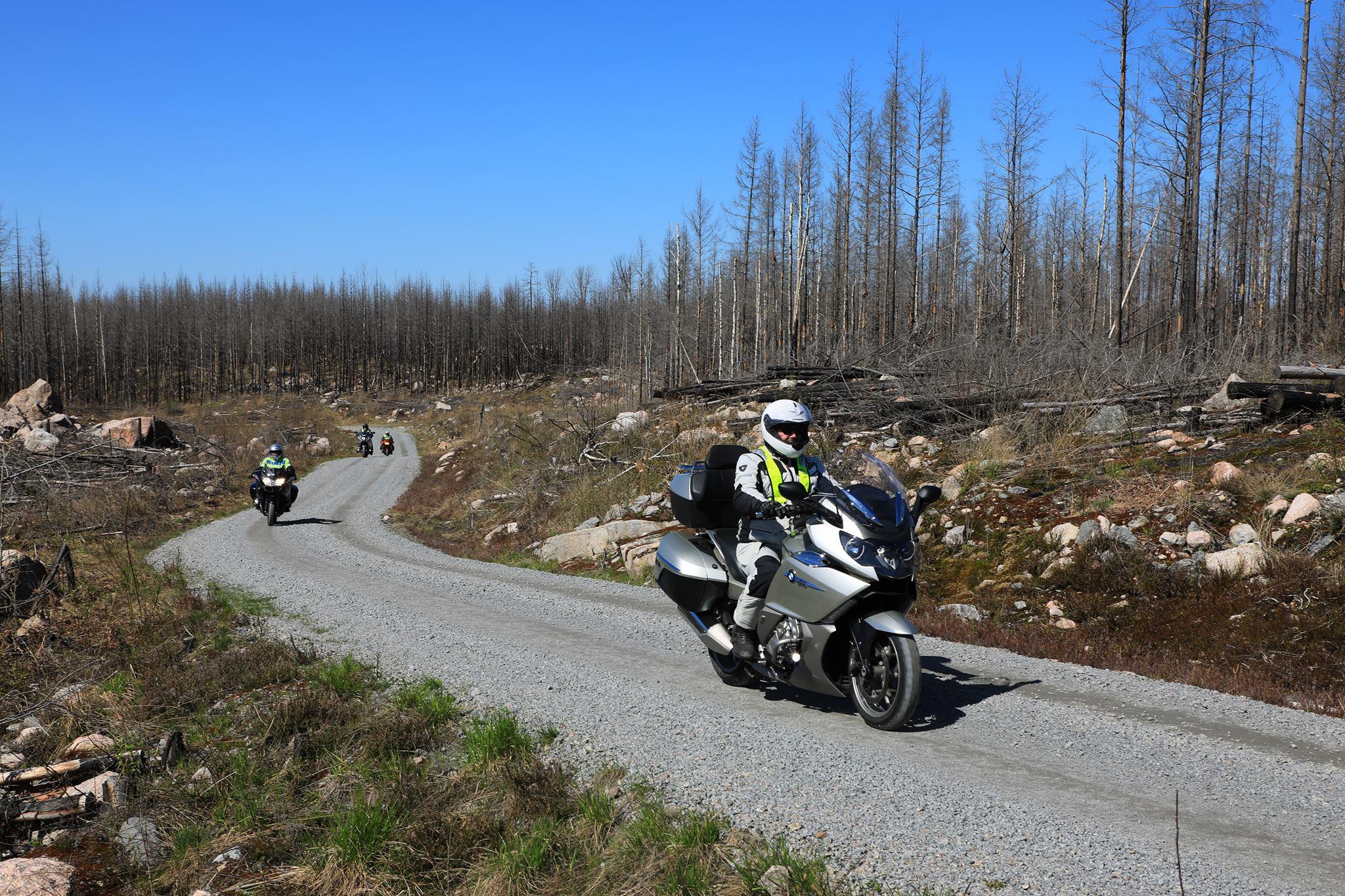 Tur till skogsbrännan i Västmanland