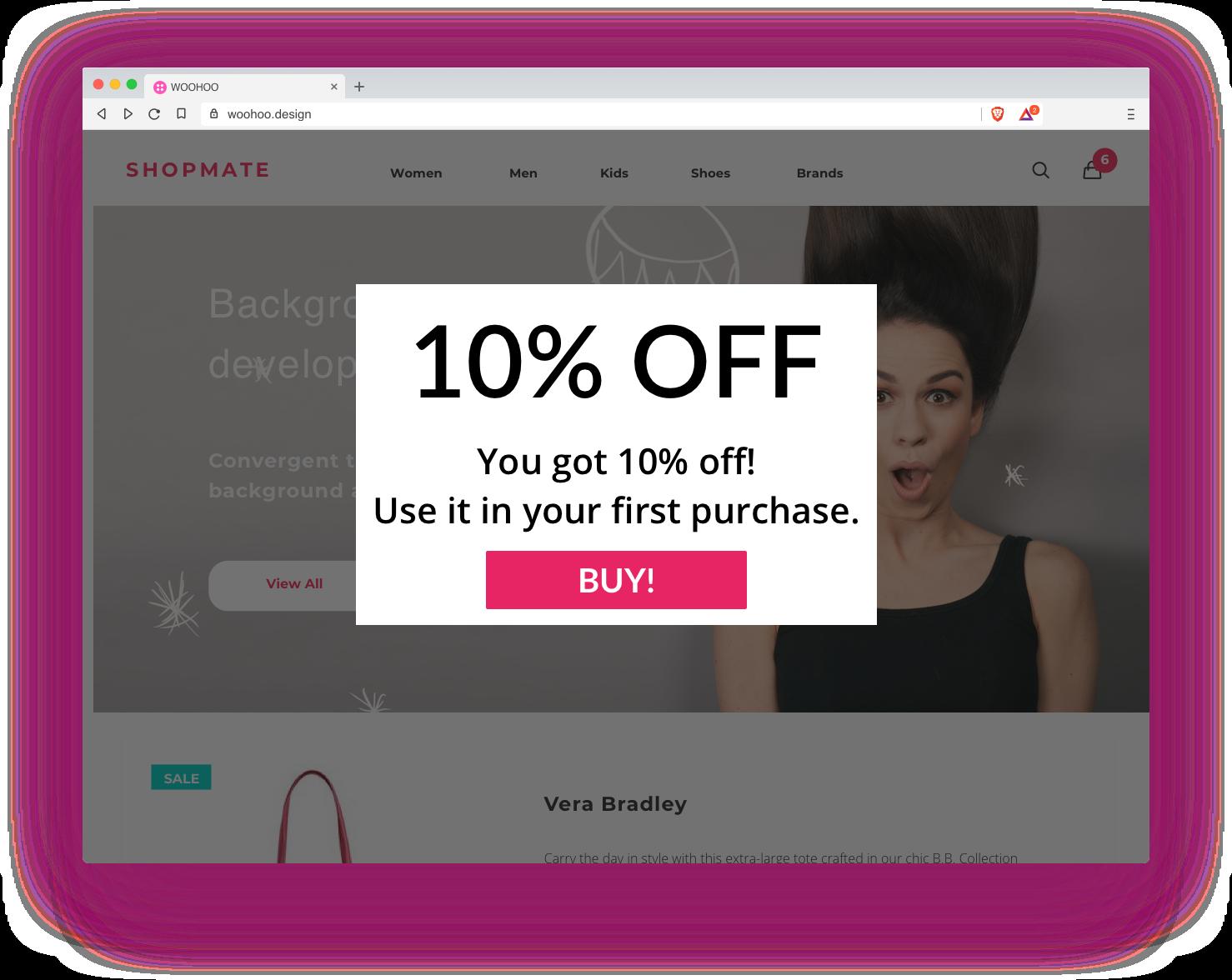Discount Code Popups