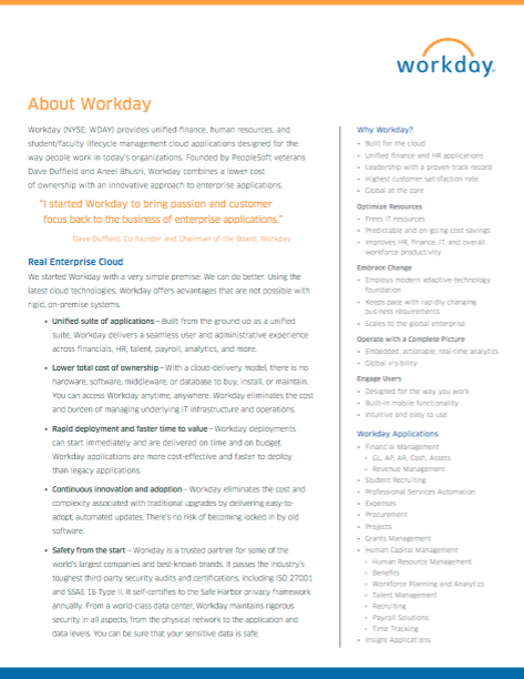 Workday | AppConfig Community