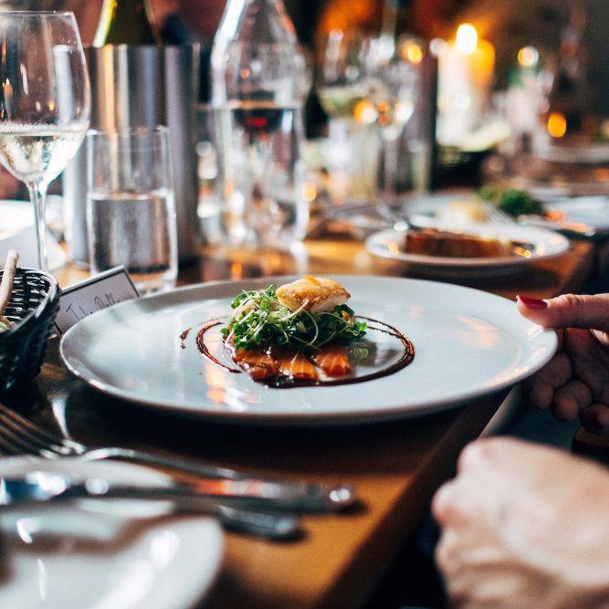 Flanieren und Dinieren