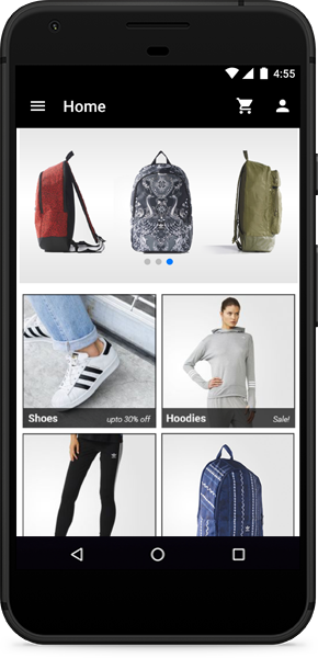 WooCommerce app widgets