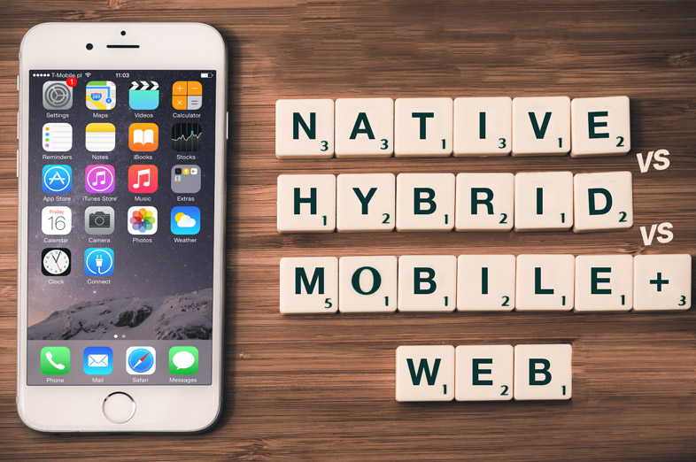 Native vs Hybrid vs Mobile Web Applications: The right mobile strategy