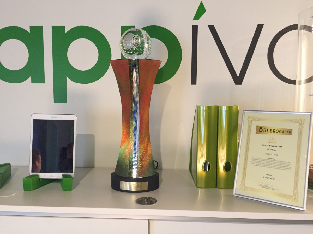 Appivo - Örebrogalan 2016 Innovation of the Year