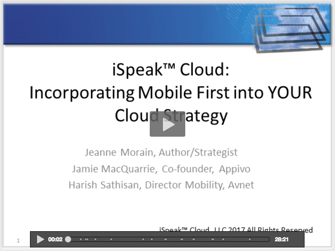Cloud & Mobile Webcast