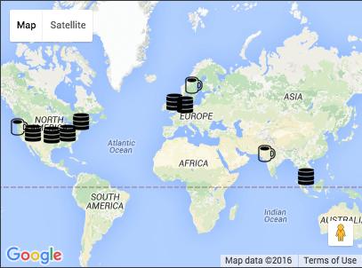 Appivo Locations Map