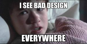 Bad Design Meme