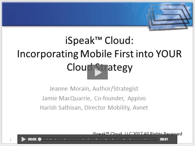 Cloud & Mobile Webcast