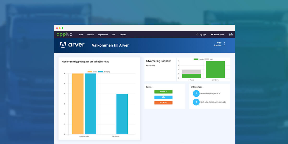 arver-app Competence