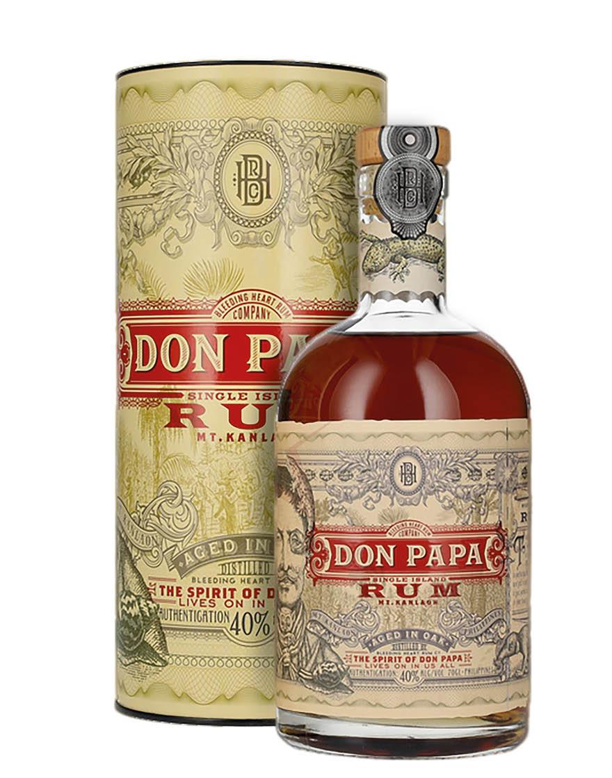 Don Papa Rum Don Papa 0,7 L, Con estuche