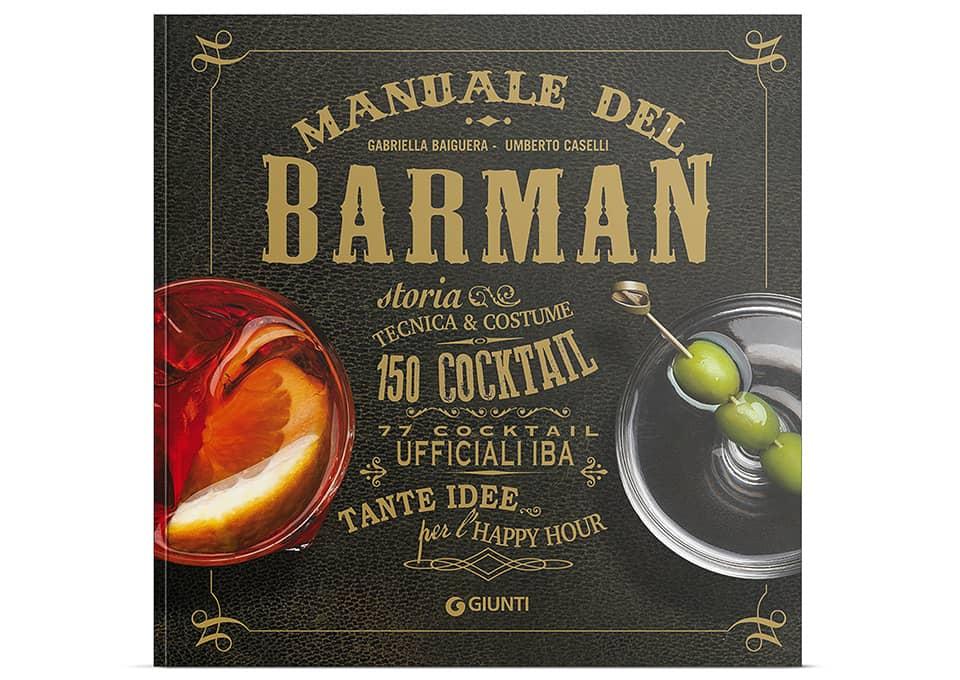 Libro - manuale del barman (italiano) copertina rigida 8809819608