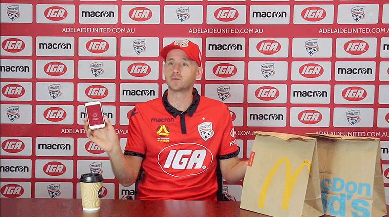 Adelaide App Developers AUFC McDonalds