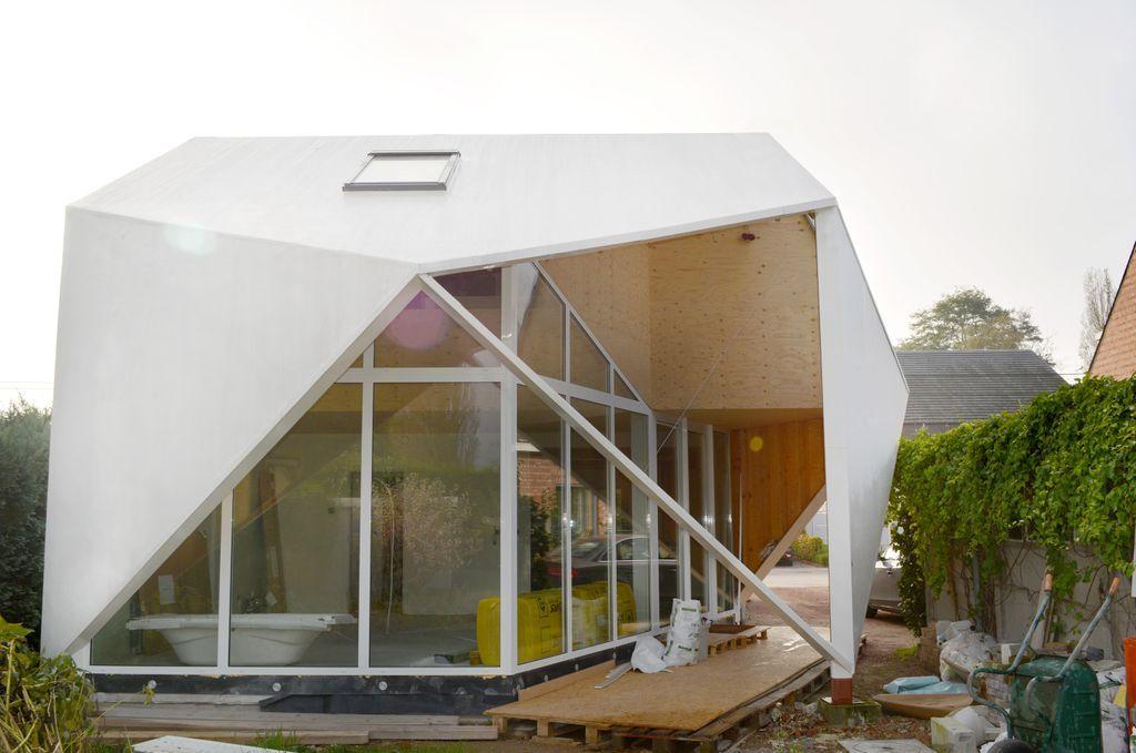 Vierkant wit huis - Derbigum