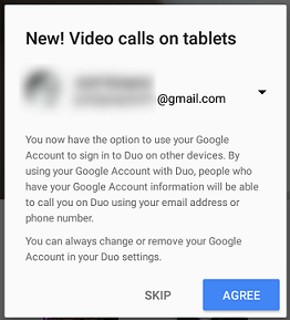 Now make Duo video calls across all your devices linked with
